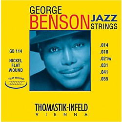 Thomastik Gb114 George Benson Custom Heavy Fla2und Jazz Guitar Strings