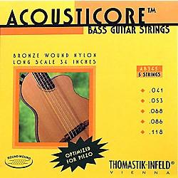 Thomastik Ab345 Acousticore Phosphor Bronze 5-String Bass Strings