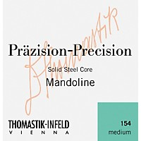 Thomastik 154 Tin-Plated Steel Flatwound  ...