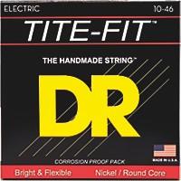 Dr Strings Tite-Fit Mt-10 Medium-Tite Nickel  ...