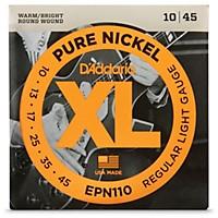 D'addario Epn110 Pure Nickel Electric Guitar  ...