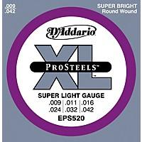 D'addario Eps520 Prosteels Super Light  ...