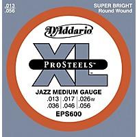 D'addario Eps600 Prosteels Jazz Medium  ...