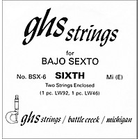 Ghs Bsx6 Bajo Sexto Single Guitar  ...