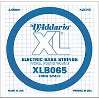 D'addario Xlb065 Extra Long Single Bass  ...