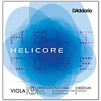 D'addario H413 Helicore Long Scale Viola Light G String 15+ Medium Scale