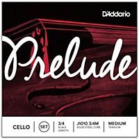 D'addario Prelude Cello String Set  3/4 Size
