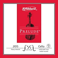 D'addario Prelude Series Cello G String 4/4 Size Heavy
