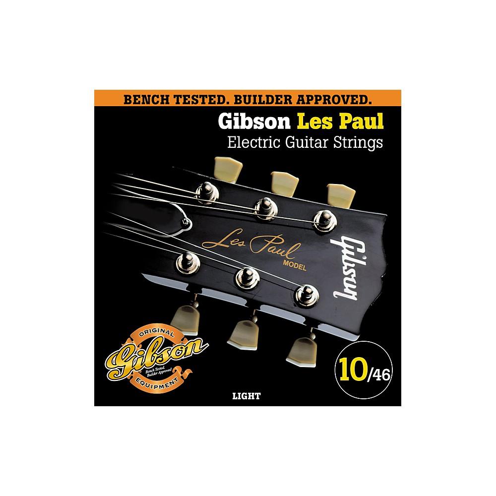 Gibson LP10 Les Paul Pure Nickel Light Electric Guitar Strings 1273888006371