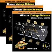 Gibson Vintage Reissue 3-Pack Vr11 Electric Guitar Strings