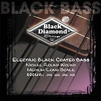 Black Diamond Medium Gauge Black Coated Roundwound Long Scale Bass Strings