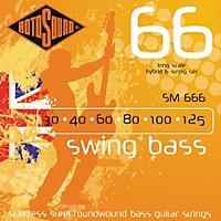 Rotosound Sm66 Trubass 4-String Roundwound Bass Strings