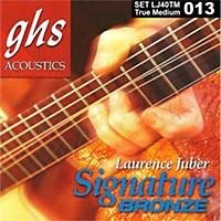 Ghs Laurence Juber Signature Bronze True Medium Acoustic Guitar Strings
