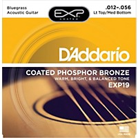 D'addario Exp19 Acoustic Guitar Strings Pb Ctd Bluegrass Set