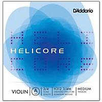 D'addario Helicore Violin  Single A String 3/4 Size