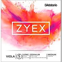 D'addario Zyex Series Viola C String  16+ Long Scale Medium