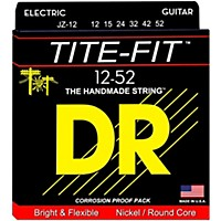 Dr Strings Tite-Fit Jz-12 Jazz Nickel Plated  ...