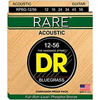 Dr Strings Rare Phos Bronze Bluegrass  ...