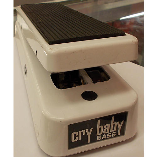 Dunlop 105Q Cry Baby Bass Wah Arctic White Bass Effect Pedal