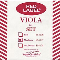 Super Sensitive Red Label Viola String Set Sub-Mini (11-In.)