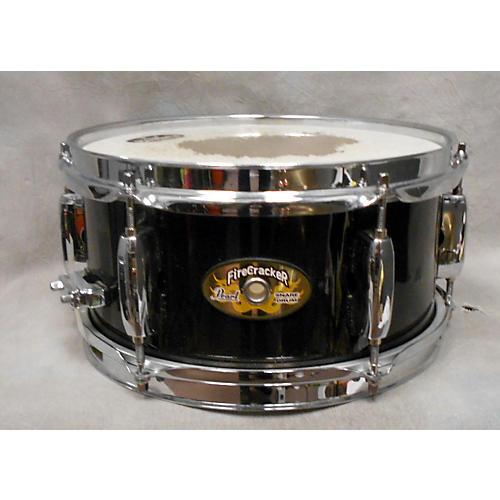 Pearl 10X5 Firecracker Snare Black Drum