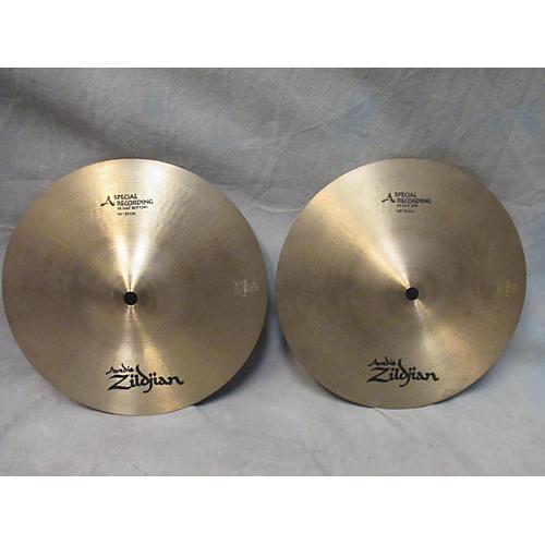 Zildjian 10in A Series Spec Rec Hi Hat Pair Cymbal