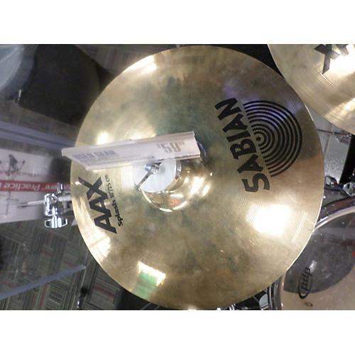 Sabian 10in AAX Splash Cymbal