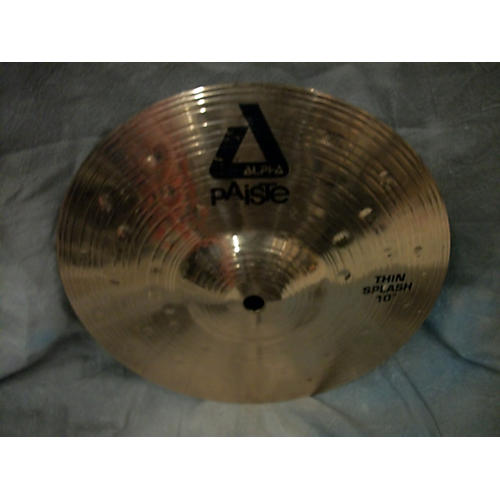 Paiste 10in Alpha Thin Splash Cymbal