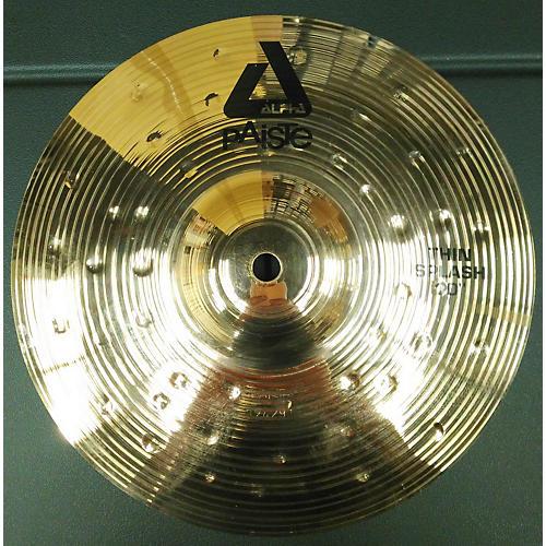 Paiste 10in Alpha Thin Splash Cymbal