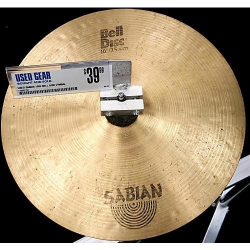 Sabian 10in Bell Disc Cymbal