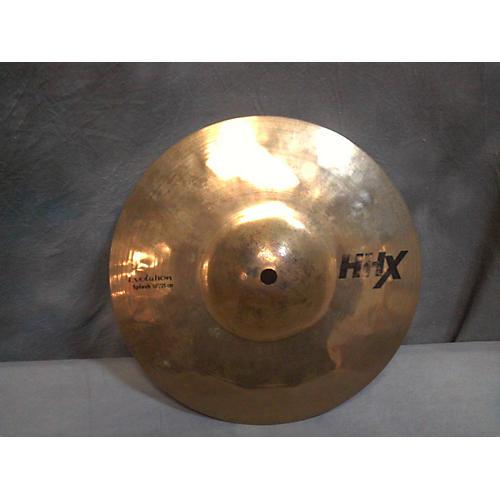 Sabian 10in HHX Evolution Splash Brilliant Cymbal
