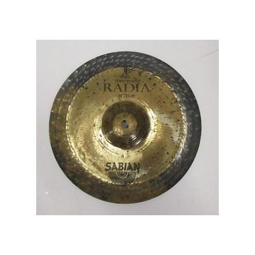 Sabian 10in Radia Cymbal