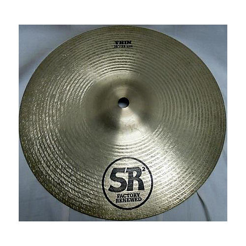 Sabian 10in SR2 Thin Crash Cymbal