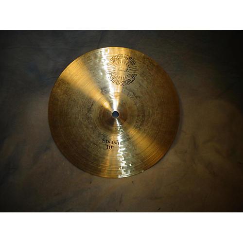 Paiste 10in Sound Formula Splash Cymbal