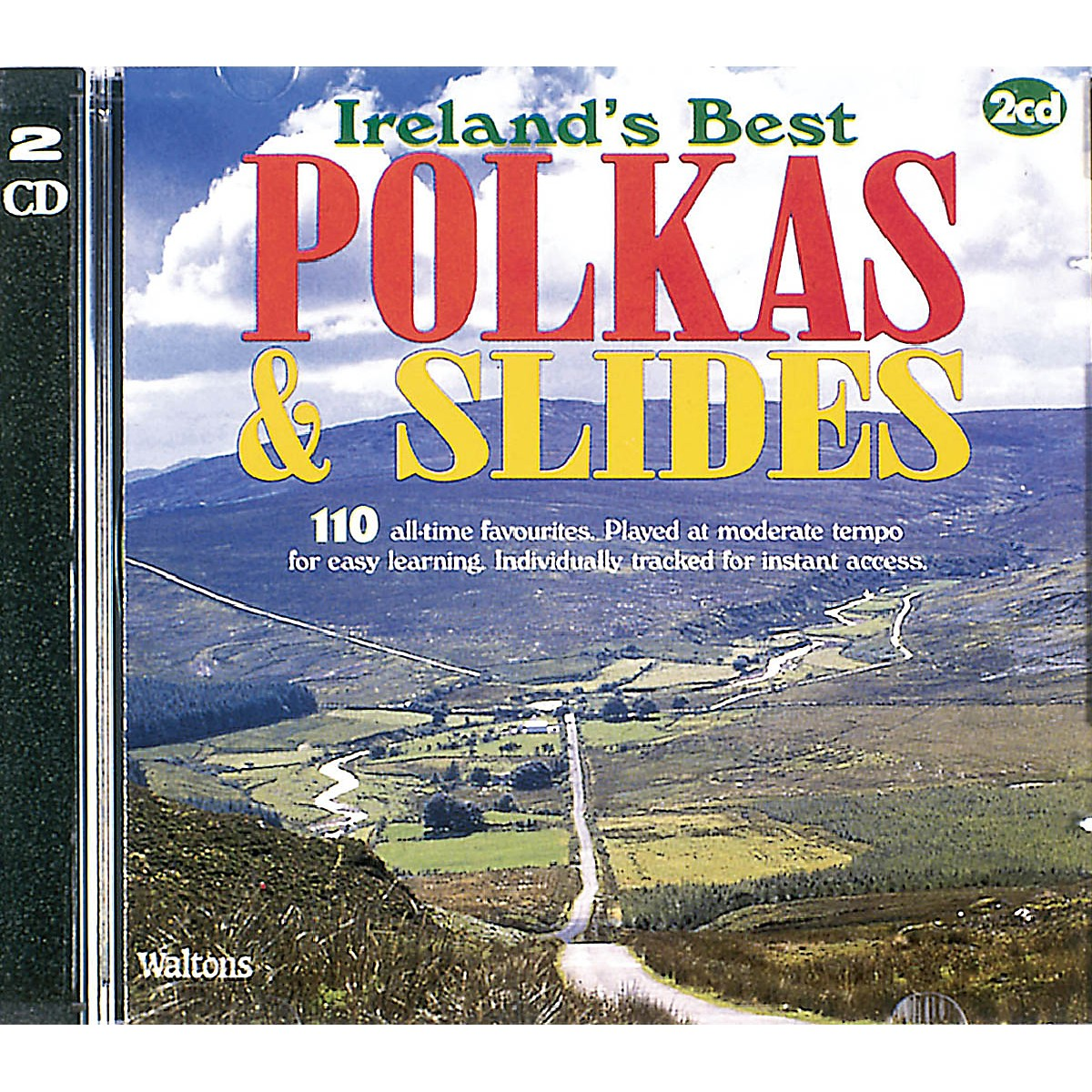 Waltons 110 Ireland's Best Polkas & Slides (with Guitar Chords) Waltons Irish Music Books Series CD