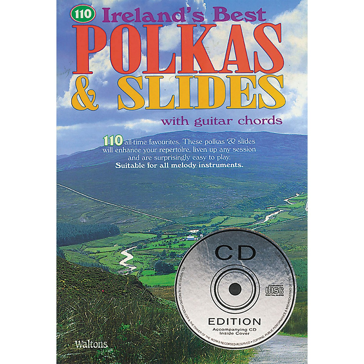 Waltons 110 Ireland's Best Polkas & Slides (with Guitar Chords) Waltons Irish Music Books Series