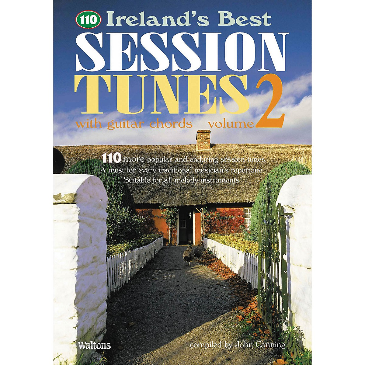 Waltons 110 Ireland's Best Session Tunes - Volume 2 (with Guitar Chords) Waltons Irish Music Books Series