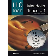 Waltons 110 Irish Mandolin Tunes (with Guitar Chords) Waltons Irish Music Books Series Softcover with CD