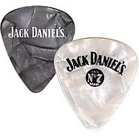 Peavey Jack Daniel's Pearloid Guitar Picks One Dozen Black Pearl Thin