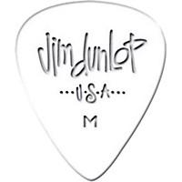 Dunlop Celluloid Classic Guitar Picks 1 Dozen White Heavy