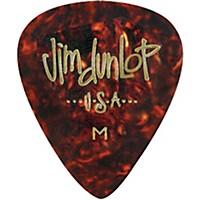 Dunlop Celluloid Classic Guitar Picks 1 Dozen Shell Medium