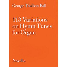 Novello 113 Variations on Hymn Tunes for Organ Music Sales America Series