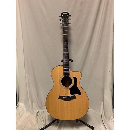 used taylor 114ce acoustic electric guitar natural guitar center. Black Bedroom Furniture Sets. Home Design Ideas