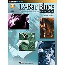 Hal Leonard 12-Bar Blues Bass Book/CD
