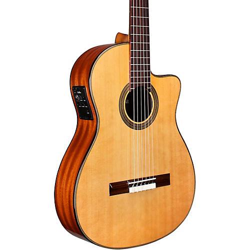 Cordoba 12 Natural Cedar Top Classical Acoustic-Electric Guitar