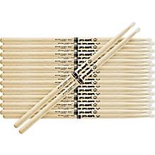 12-Pair Japanese White Oak Drumsticks Wood 747B