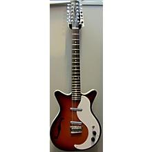 Danelectro 12-STRING SEMI-HOLLOW Hollow Body Electric Guitar