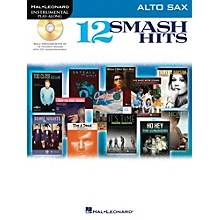 Hal Leonard 12 Smash Hits for Alto Sax - Instrumental Play-Along Book/CD