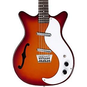 danelectro 12 string semi hollow electric guitar cherry sunburst guitar center. Black Bedroom Furniture Sets. Home Design Ideas
