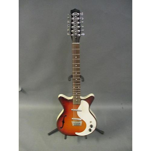 used danelectro 12 string semi hollow hollow body electric guitar tobacco sunburst guitar center. Black Bedroom Furniture Sets. Home Design Ideas